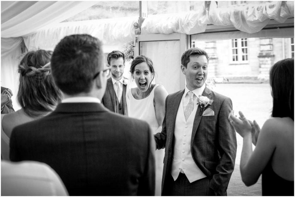 capheaton hall wedding photography