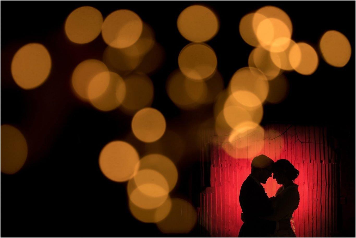 Brdie & Groom silhouette