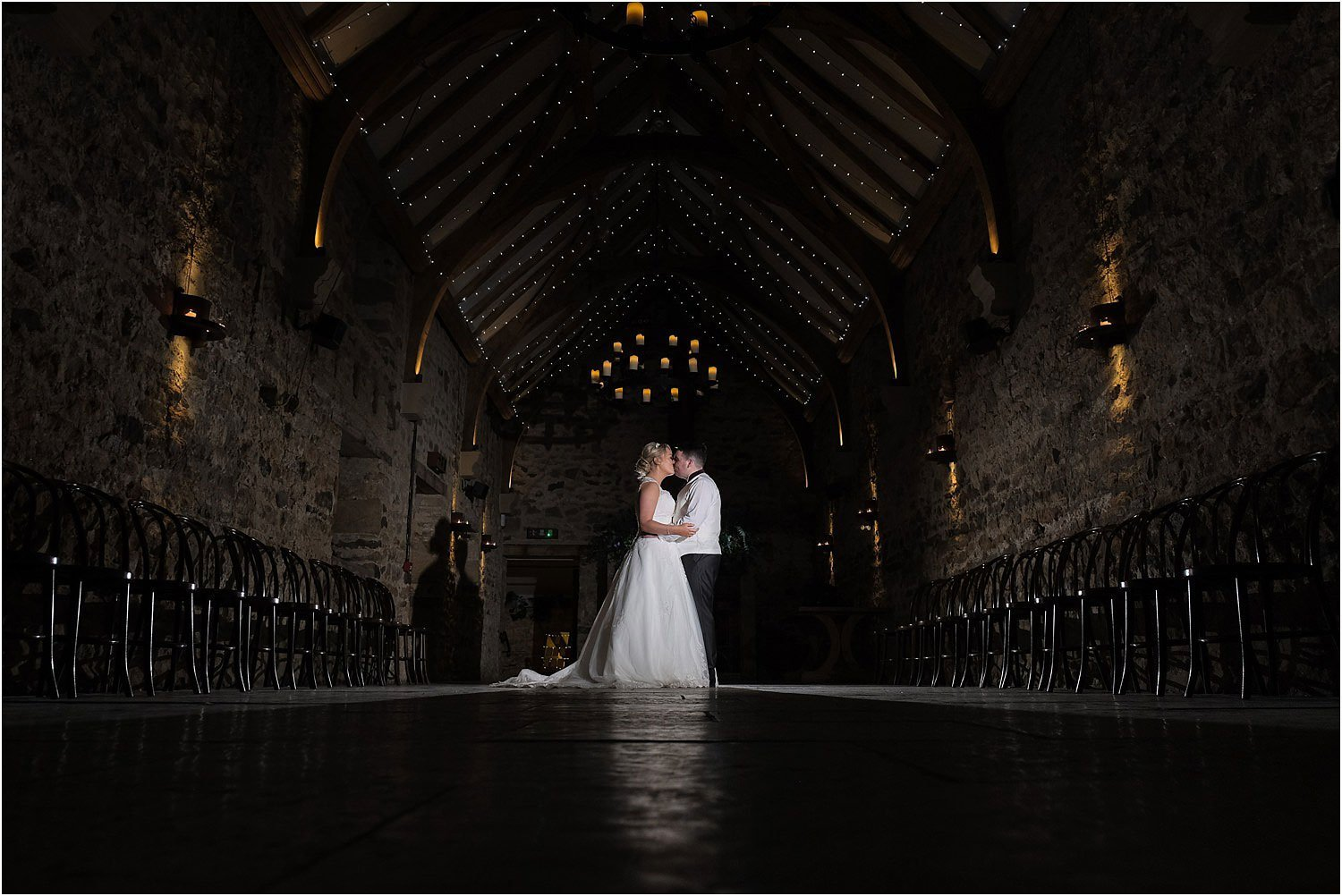 healey barn wedding couple